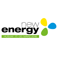 Logo New Energy Husum 2016